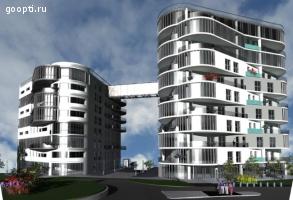 Чехия. Карловы Вары. Утверждённый проект жилого дома с земел